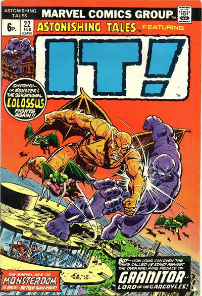 Cover for Astonishing Tales (Marvel, 1970 series) #22 [Regular Edition]