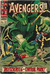 Cover for The Avengers (Marvel, 1963 series) #45 [British Price Variant]