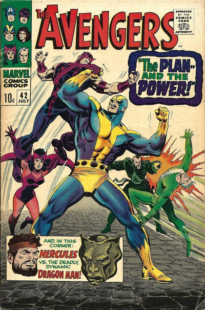 Cover for The Avengers (Marvel, 1963 series) #42 [Regular Edition]