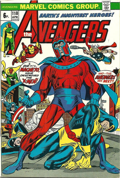 Cover for The Avengers (Marvel, 1963 series) #110 [Regular Edition]
