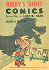 "Cover for Kirby Shoes Comics Featuring Kirby the Golden Bear ""Mistaken Identity"" (Western, 1961 series)"