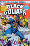 Cover Thumbnail for Black Goliath (1976 series) #1 [British Price Variant]
