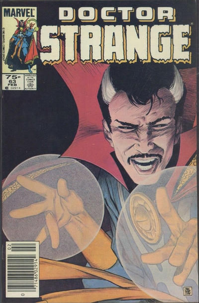 Cover for Doctor Strange (Marvel, 1974 series) #63 [Direct Edition]