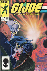 Cover Thumbnail for G.I. Joe, A Real American Hero (Marvel, 1982 series) #29 [Direct Edition]
