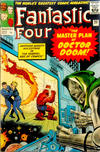 Cover for Fantastic Four (Marvel, 1961 series) #23 [British Price Variant]