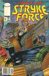 Cover for Codename: Stryke Force (Image, 1994 series) #1 [Newsstand]