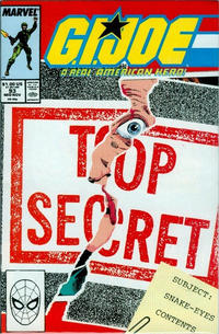 Cover Thumbnail for G.I. Joe, A Real American Hero (Marvel, 1982 series) #93 [Direct Edition]