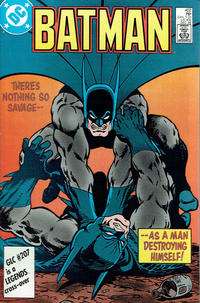 Cover Thumbnail for Batman (DC, 1940 series) #402 [Direct Sales Variant]