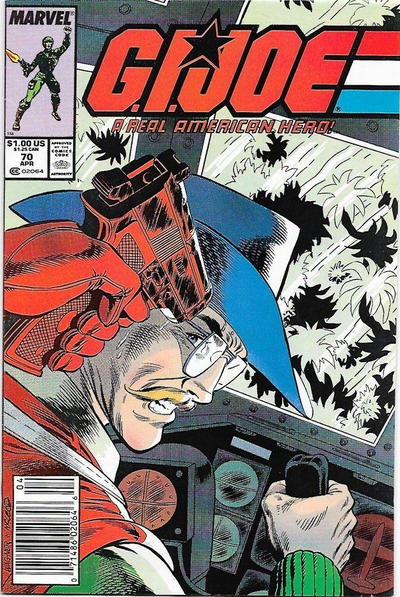 Cover for G.I. Joe, A Real American Hero (Marvel, 1982 series) #70 [Direct Edition]