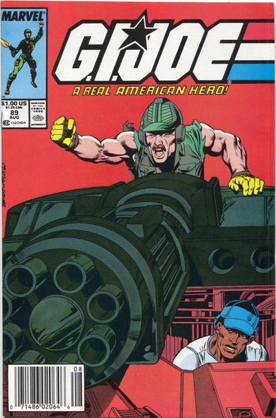 Cover for G.I. Joe, A Real American Hero (Marvel, 1982 series) #89 [Direct Edition]