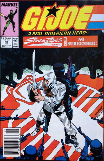 Cover for G.I. Joe, A Real American Hero (Marvel, 1982 series) #96 [Direct Edition]