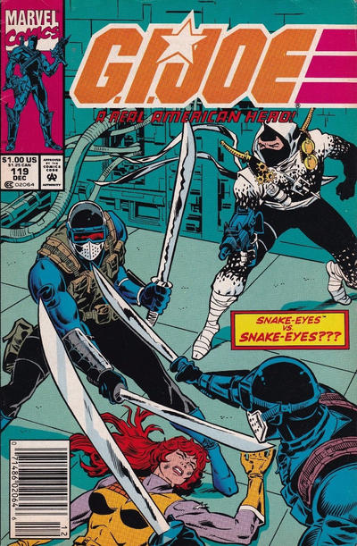 Cover for G.I. Joe, A Real American Hero (Marvel, 1982 series) #119 [Direct Edition]