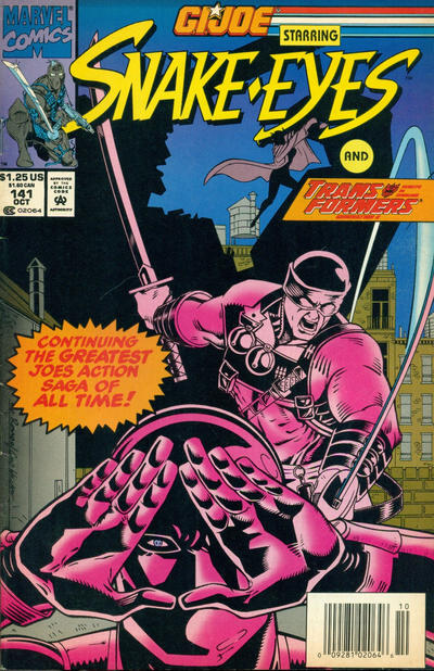 Cover for G.I. Joe, A Real American Hero (Marvel, 1982 series) #141 [Direct Edition]