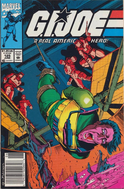 Cover for G.I. Joe, A Real American Hero (Marvel, 1982 series) #125 [Direct Edition]