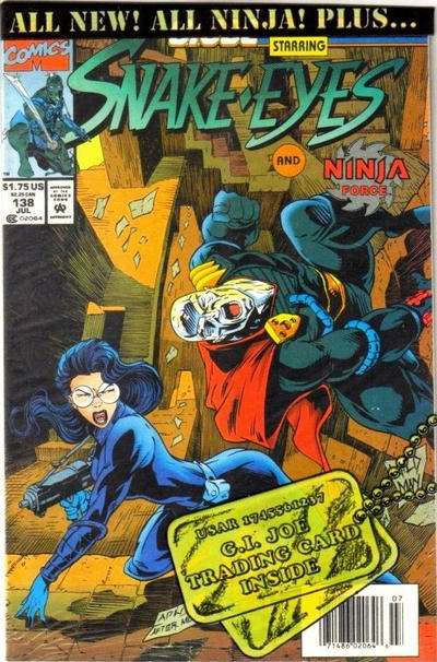 Cover for G.I. Joe, A Real American Hero (Marvel, 1982 series) #138 [Direct Edition]