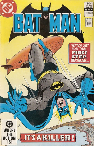 Cover for Batman (DC, 1940 series) #352 [Direct Edition]