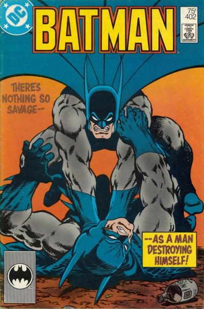 Cover for Batman (DC, 1940 series) #402 [Newsstand Variant]