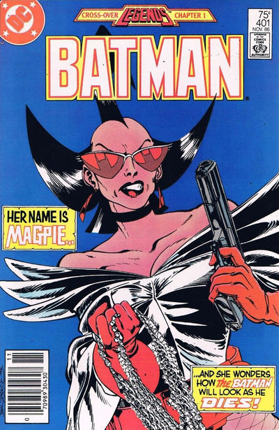 Cover for Batman (DC, 1940 series) #401 [Direct Sales Variant]