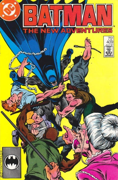 Cover for Batman (DC, 1940 series) #409 [Newsstand]