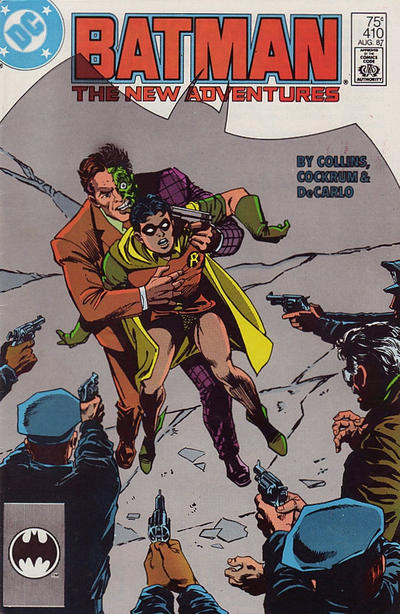 Cover for Batman (DC, 1940 series) #410 [Canadian Newsstand Variant]