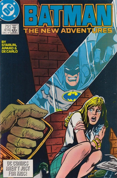Cover for Batman (DC, 1940 series) #414 [Third Printing - DC Bullet Variant]
