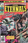 Cover for The Eternals (Marvel, 1976 series) #4 [British Price Variant]