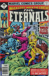 Cover for The Eternals (Marvel, 1976 series) #8 [Whitman Edition]