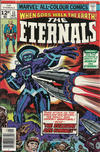 Cover for The Eternals (Marvel, 1976 series) #11 [British Price Variant]