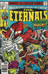 Cover for The Eternals (Marvel, 1976 series) #14 [British Price Variant]
