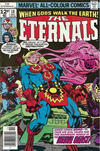 Cover Thumbnail for The Eternals (1976 series) #18 [British Price Variant]