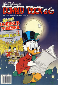 Cover Thumbnail for Donald Duck & Co (Hjemmet, 1948 series) #12/1992