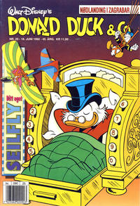 Cover Thumbnail for Donald Duck & Co (Hjemmet, 1948 series) #25/1992