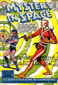 Cover Thumbnail for Mystery in Space (DC, 1951 series) #75