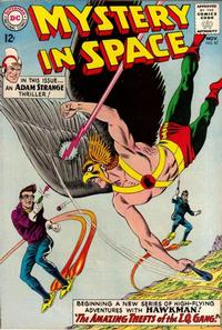 Cover Thumbnail for Mystery in Space (DC, 1951 series) #87