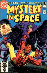 Cover Thumbnail for Mystery in Space (DC, 1980 series) #115 [Direct Edition]