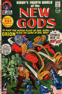 Cover Thumbnail for The New Gods (DC, 1971 series) #4