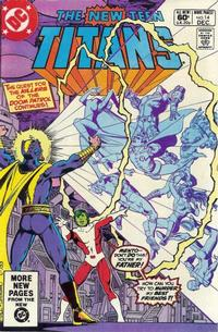 Cover Thumbnail for The New Teen Titans (DC, 1980 series) #14 [Direct]