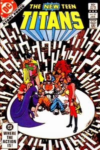 Cover for The New Teen Titans (1980 series) #27 [Direct]