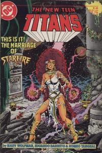 Cover Thumbnail for The New Teen Titans (DC, 1984 series) #17