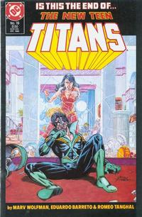 Cover Thumbnail for The New Teen Titans (DC, 1984 series) #19