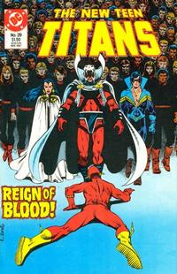 Cover Thumbnail for The New Teen Titans (DC, 1984 series) #29
