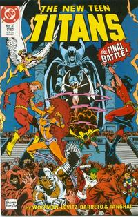 Cover Thumbnail for The New Teen Titans (DC, 1984 series) #31
