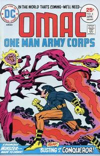Cover Thumbnail for OMAC (DC, 1974 series) #4