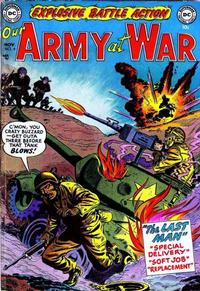 Cover Thumbnail for Our Army at War (DC, 1952 series) #4