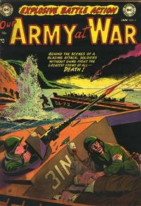Cover Thumbnail for Our Army at War (DC, 1952 series) #6