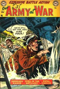 Cover Thumbnail for Our Army at War (DC, 1952 series) #9