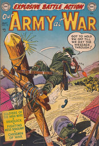 Cover Thumbnail for Our Army at War (DC, 1952 series) #10