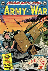 Cover for Our Army at War (1952 series) #20