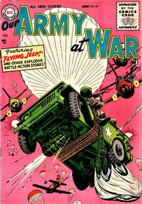 Cover for Our Army at War (1952 series) #47