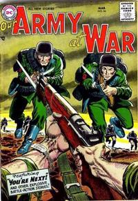Cover Thumbnail for Our Army at War (DC, 1952 series) #56